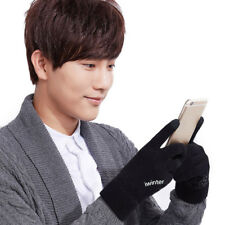 Men's Thermal Thinsulate Knitted Full Finger Gloves Winter Warm Woolly Mittens