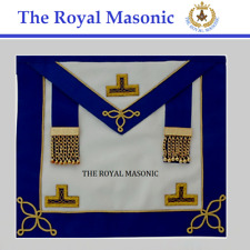 More details for craft provincial undress apron & collar |made from lambskin |new masonic regalia