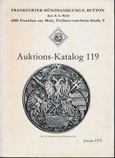 HN FRANKFURTER MUNZHANDLUNG E. BUTTON Auktion 119 Januar 1972