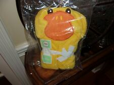 New Circo Yellow Duck Infant Bath Wrap