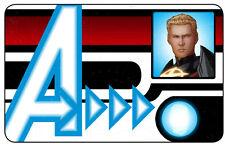 HeroClix Marvel Nick Fury/SHIELD ID Card #004 Quasar!!!!!