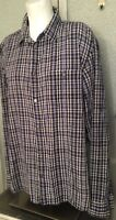 Men's XL Marc Jacobs Blue Plaid Shirt
