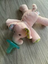 Mary Meyer WubbaNub Infant Newborn Baby Soothie Pacifier Ella Bella Elephant