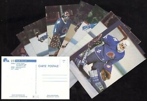 1980-81 TO 1984-85 POSTCARD QUEBEC NORDIQUES NHL HOCKEY POST CARD SEE LIST
