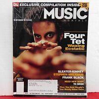 Four Tet CMJ New Music Magazine Sleater Kinney Frank Black Issue 133 2005 RARE!