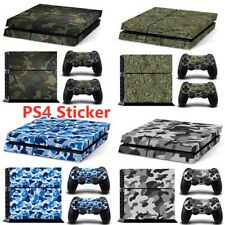 Camo Skin For Playstation  4Plastic Vinyl Skin PS4 Gamepad  Controllers Cover
