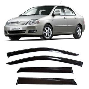 For Toyota Corolla lX Sd 2001-2007 Window Visors Side Rain Guard Vent Deflectors
