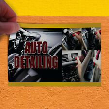 Decal Sticker Auto Detailing #6 Automotive auto detailing Outdoor Store Sign