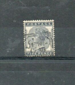 A very nice GB Victorian 5d `blue issue