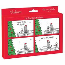 Funny Traditional Advent Calendar For Your Cat - A Pet Treat Behind every door