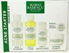 Mario Badescu Skincare Acne Starter Regimen Kit Cleanser, Toner, Moisturize