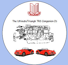 Triumph TR3, TR3A Companion Workshop Manuals, Parts Lists, Tuning Manual