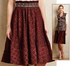 Anthropologie Diamond-Cut Skirt by Maeve, size US 6, AUS 8-10 NEW