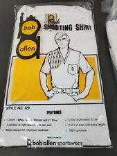 Vintage Nos Bob Allen Padded Shoulder Mesh Shooting Shirt Xl in Package 129