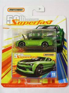 Chevy Camaro '17 - MATCHBOX Superfast 50th Anniversary #11 -1:64 Diecast Car