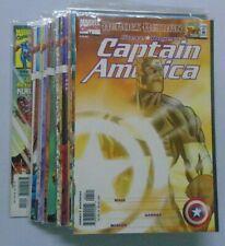 Captain America 3rd Series comic lot #1B-22A 8.0 VF (1998)
