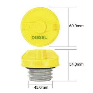 Tridon Non Locking Fuel Cap TFNL234D