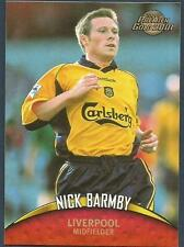 TOPPS PREMIER GOLD- 2000-01- #072-LIVERPOOL-NICK BARMBY