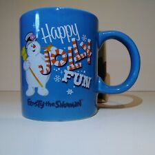 Frosty The Snowman Happy Jolly Fun 11 oz Ceramic Christmas Coffee Mug Cup - NEW