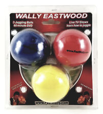 WALLY EASTWOOD JUGGLER LIVE ON DVD - AUTOGRAPHED W/JUGGLING BALLS- SEALED! NEW