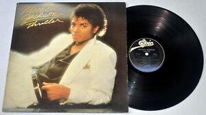 U.S. Pressing MICHAEL JACKSON Thriller LP Vinyl Record