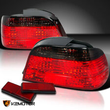 1995-2001 BMW E38 750I 740I Stop Tail Lights Smoke Pair