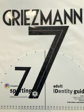 2018 RUSSIA WORLD CUP FRANCE GRIEZMANN Away NAME SET