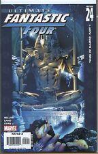 Ultimate Fantastic Four 2004 series # 24 very fine comic book