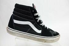 VANS Sk8-Hi Black Suede Sz 12 Men Skate Sneakers