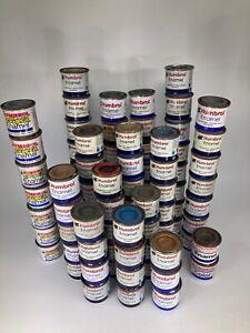 HUMBROL Enamel Model Paints 14ml - ALL COLOURS - Matt Gloss Satin Metallic