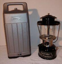 Coleman Special Edition Lantern 8/88 + Gray Case Powerhouse  Model 290A