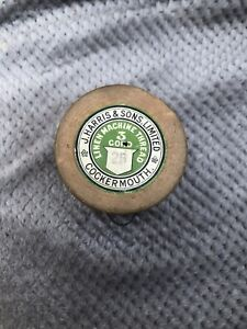 4oz Linen Machine Thread Bottle Green Very Strong Dressmaking Or Even Leather