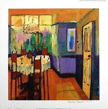 """Martin décent """"art nouveau"""" salle à manger table ltd ed! taille: 45cm x 45cm neuf rare"""
