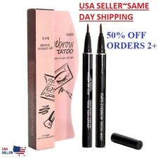 7 Days Eyebrow Tattoo Pen Pencil Liner Eye Makeup Cosmetic Long Lasting USA Sell
