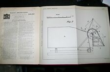 IMPROVED REFUSE COLLECTOR PATENT. OUGHTON of STEPNEY & SIDCUP,KENT. 1924