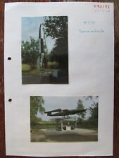 Peenemünde V1 und V2 Rakete .5 St originale Fotos     Urlaub  1993