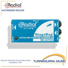 Radial SB-1 StageBug Stage Bug SB1 Active DI Direct Input Box