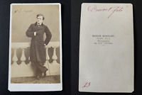 Martinet, Paris, Provost fils Vintage albumen print CDV. Eugène-François-Charl