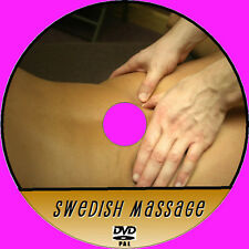 LEARN SWEDISH BODY MASSAGE STEP X STEP INSTRUCTION GUIDE VIDEO DVD RELAXING NEW