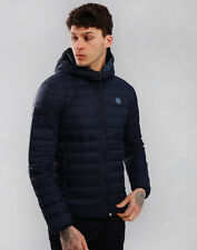 Pretty Green Barker Lightweight Down Jacket Navy M