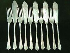 Walker & Hall Antique Silver Cutlery Sets