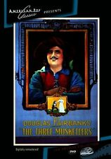 THE THREE MUSKETEERS (1921 Douglas Fairbanks) - Region Free DVD - Sealed