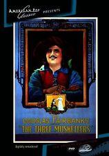 THE THREE MUSKETEERS (1921 Douglas Fairbanks) - Region Free DVD - Sealed