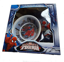 Spiderman Melamine Meal Set Cup Plate Bowl Boxed kids toddler