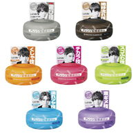 Gatsby Moving Rubber Hair Wax clay salon style 7 type 80g JAPAN Easy Styling F/S