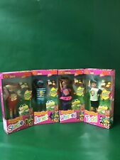 """1993 Happy Meal:""""STACIE,JANET,WHITNEY&TODD NIB By Mattel"""