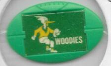 1968 1969 Twisties / Milo Badge / Pin WOODVILLE Woodies