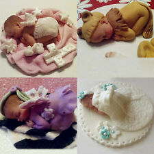 New DIY Toy Silicone Sleeping Baby Shape Cake Mould Fondant Sugar Candy Cupcakes