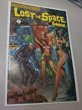 Lost In Space Annual #1 Joe Jusko Controversial Bondage Cover innovation 1992