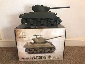 Mato Toys 1/16 Scale U.S. Sherman M4A1 Tank